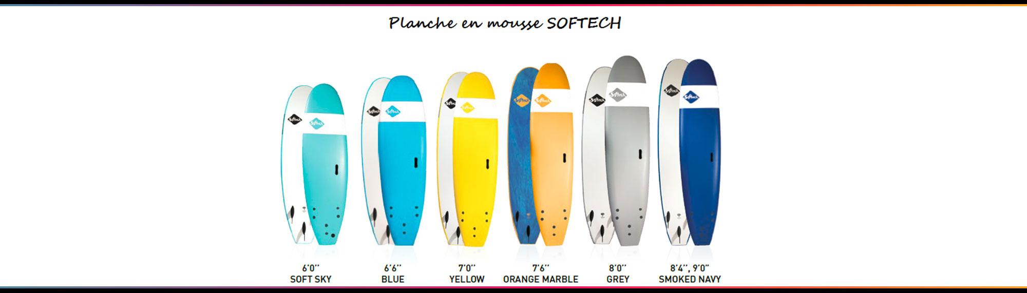 slide location planche en mousse