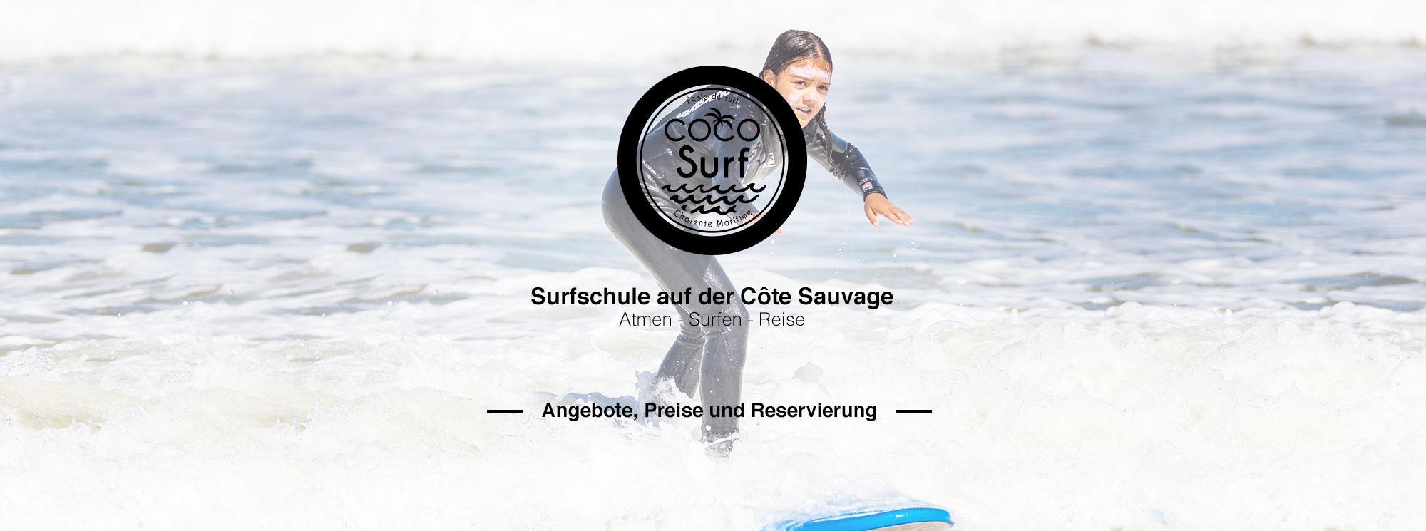 photo ados surfeuse Coco Surf école de surf