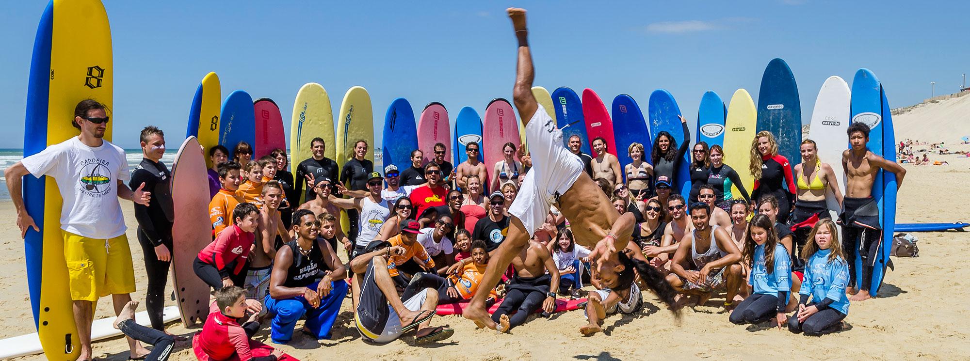 photo présentation des cours coco surf