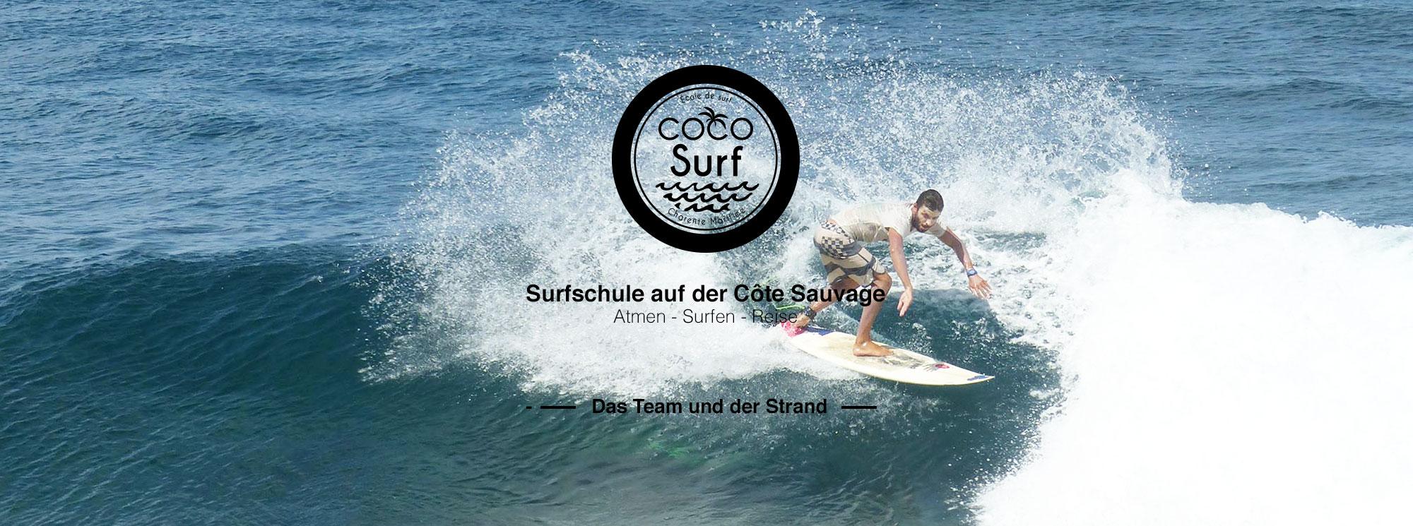 photo Morgan moniteur de surf Coco Surf école de surf