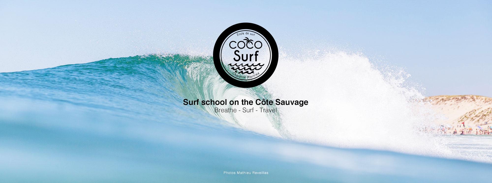 vague parfaite école de surf coco surf