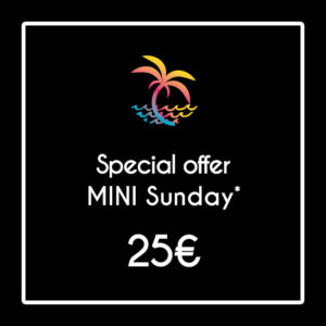 offre special mini sunday Coco Surf